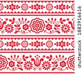 polish traditional vector... | Shutterstock .eps vector #1883916616
