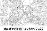 vector illustration  lovely... | Shutterstock .eps vector #1883993926