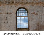 Vintage Window Overlooking The...