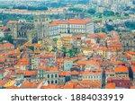 Aerial View Of Porto Oporto...