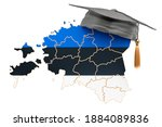 Education In Estonia Concept....
