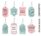 Fashion Sale Label Tegs With...
