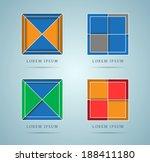abstract design elements. eps10. | Shutterstock .eps vector #188411180