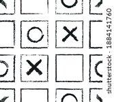 Vector Black Crosses Squares...