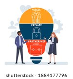 ppp   public private... | Shutterstock .eps vector #1884177796