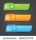 modern text box template ...   Shutterstock .eps vector #1884227470
