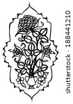 paisley design  | Shutterstock .eps vector #188441210