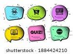 quiz symbol. speech bubble with ...   Shutterstock .eps vector #1884424210