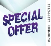 special offer poster sale word...