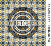 Wretched Arabesque Badge....
