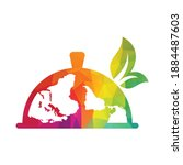 global international food menu... | Shutterstock .eps vector #1884487603