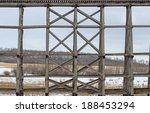 wooden bridge structure for a... | Shutterstock . vector #188453294