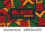 black history month. african...   Shutterstock .eps vector #1884561250