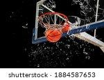 Shattered Backboard.basketball...