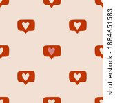 seamless vector pattern with... | Shutterstock .eps vector #1884651583