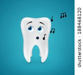 tooth sings and more notes... | Shutterstock .eps vector #188468120