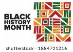 black history month. african... | Shutterstock .eps vector #1884721216