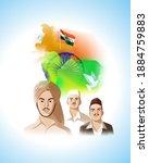 vector illustration of indian...   Shutterstock .eps vector #1884759883
