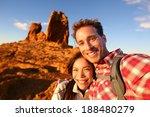 Happy Couple Taking Selfie Sel...