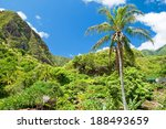 iao valley state park on maui... | Shutterstock . vector #188493659