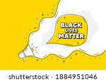 black lives matter message....   Shutterstock .eps vector #1884951046