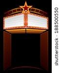 movie premiere | Shutterstock .eps vector #188500550