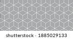 combination of hexagon and... | Shutterstock .eps vector #1885029133