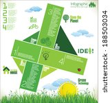modern ecology design layout | Shutterstock .eps vector #188503034