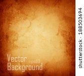 vector orange abstract...   Shutterstock .eps vector #188503694