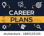 creative  career plans  banner... | Shutterstock .eps vector #1885125130