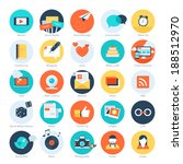 vector set of modern flat and...