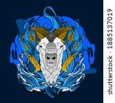 Goat  Illustration Design For...