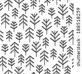 seamless stylish pattern with... | Shutterstock . vector #188518259
