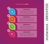 infographic steps  modern...