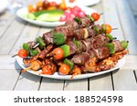 Assorted Delicious Grilled Mea...