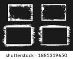 grunge frames isolated vector... | Shutterstock .eps vector #1885319650