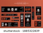 set of web banners  advertising ...