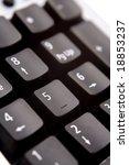 closeup of computer keyboard | Shutterstock . vector #18853237