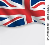 uk flag or union jack with copy ... | Shutterstock .eps vector #188538338