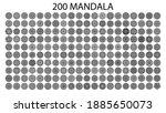 mandala skin collection for...   Shutterstock .eps vector #1885650073