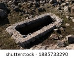 Roman Rock Tombs Konya   Turkey