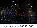 lights in the night  abstract ... | Shutterstock . vector #188581043
