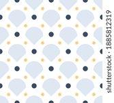 japanese motif cute baby... | Shutterstock .eps vector #1885812319