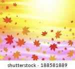 maple leaves pattern | Shutterstock . vector #188581889