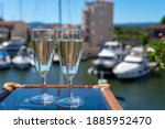 Summer Party With Sparkling...