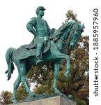 Equestrian Statue Of George B. ...