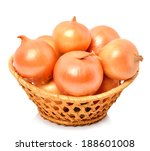 Yellow Onion In The Basket...