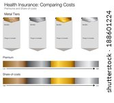 an image of a cost comparing... | Shutterstock .eps vector #188601224