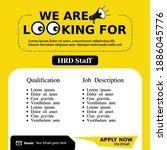 Job Vacancy Templates. We Are...