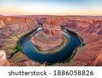 Scenic View Over Colorado River ...